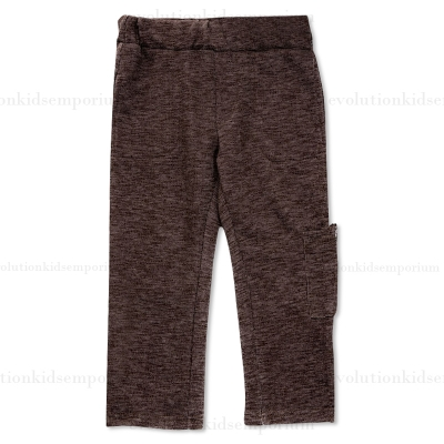 Fore!! Axel & Hudson Brown French Terry Cargo Pants w/Zipper