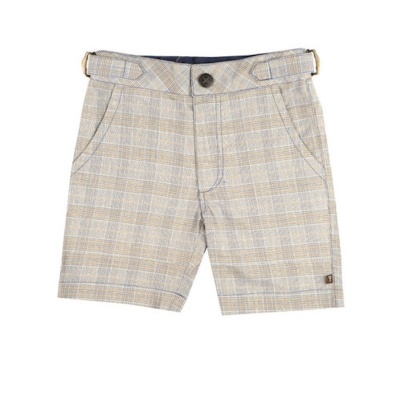 Fore!! Axel & Hudson Tan Plaid Shorts