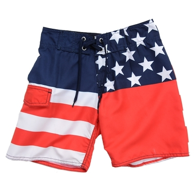 Azul Old Glory Red, White & Blue Board Shorts
