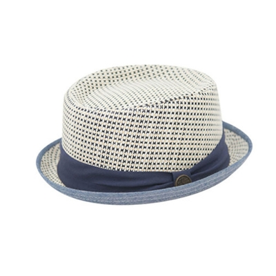 Fore!! Axel & Hudson Navy Cocomo Pork Pie Hat