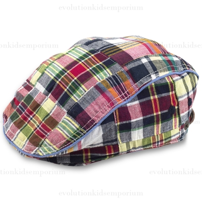 Fore!! Axel & Hudson Madras Drive Cap