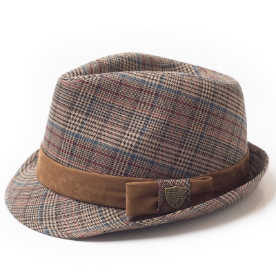 Fore!! Axel & Hudson Gentleman Plaid Fedora