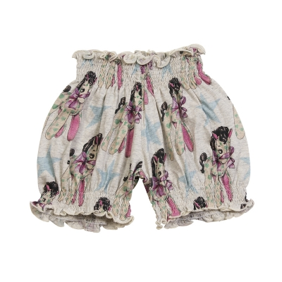 Little Wings Vintage Horse AOP Shirred Bloomers
