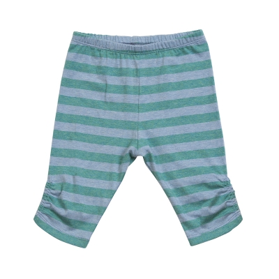 Little Wings Yarned Dyed Stripe Classic Shirred Leggings