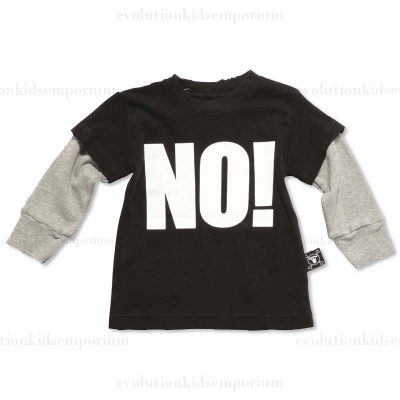 Nununu Black NO! T-Shirt