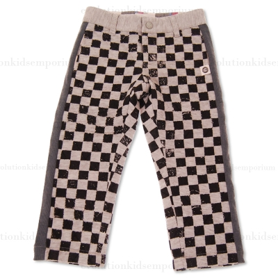 Mini Shatsu Quilted Checker Pants