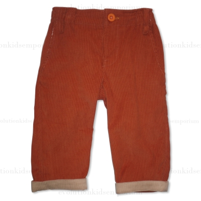 Sierra Julian Baby Boy Orange Imano Pants