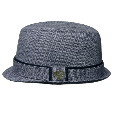 Fore!! Axel & Hudson Navy New Tweed Fedora