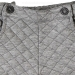 Boboli Grey Quilted Bermuda Shorts