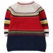 Boboli Mulit-Color Striped Knit Sweater Dress