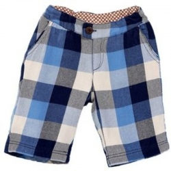Fore!! Axel & Hudson Navy Buffalo Checkered Shorts