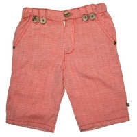 Fore!! Axel & Hudson Fiesta Red Herringbone Shorts