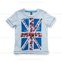 Fore!! Axel & Hudson Union Jack w/Buses Tee