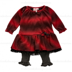 Stripe Baby Sweater Dress
