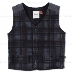 Fore!! Axel & Hudson Plaid Gentlemen Vest