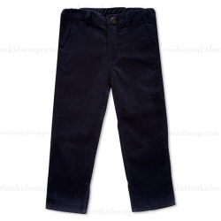 Fore!! Axel & Hudson Navy Fine-Whale Corduroy Pants
