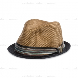 Fore!! Axel & Hudson Brown Boardwalk Fedora