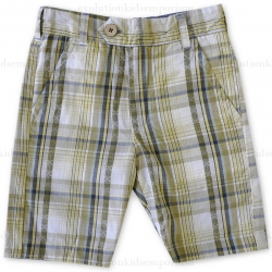 Fore!! Axel & Hudson Chambray & Dobby Reversible Plaid Shorts