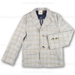 Fore!! Axel & Hudson Tan Plaid Blazer