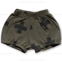 NUNUNU Olive Plus Yoga Shorts