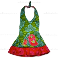 Junebug Birdie Halter Dress