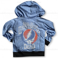 Rowdy Sprout Black & Blue Grateful Dead Lightweight Hoody