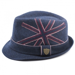 Fore!! Axel & Hudson Navy Union Jack Trilby