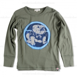 Appaman Ranger Green Bulldog Long Sleeve Tee