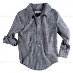 Appaman Black/Grey Western Shirt