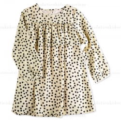 Appaman Ivory Sadie Dress w/Dots