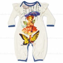 Little Wings Winter Fairy Frilled Romper