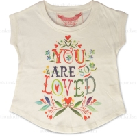 Little Wings Cream You Are So Loved Tee