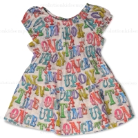 Little Wings Once Upon A Time Gathered Twill Dress