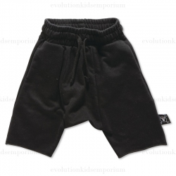 Nununu Black French Terry Shorts