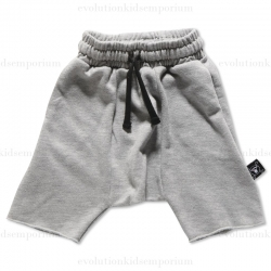 Nununu Heather Grey French Terry Shorts