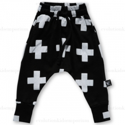 Nununu Black Plus Baggy Pants