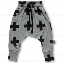 Nununu Heather Grey Plus Baggy Pants