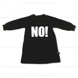 "Nununu Black ""NO!"" Dress"