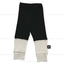 Nununu Black/White One Fourth Leggings