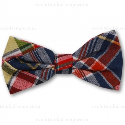 Fore!! Axel & Hudson Madras Bow Tie