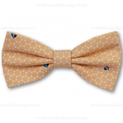 Fore!! Axel & Hudson Yellow Geo Print Bow Tie