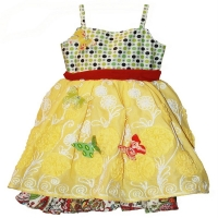 Moxie & Mabel Carnival Paloma Dress w/Butterflies