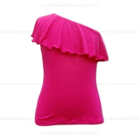 fiveloaves twofish Hot Pink Zoe Tee