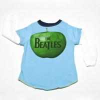 Rowdy Sprout The Beatles Apple Record Thermal Tee