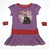 Rowdy Sprout Vintage Purple John Lennon Dress