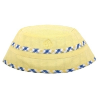 Andy & Evan Yellow Plaid Reversible Bucket Hat