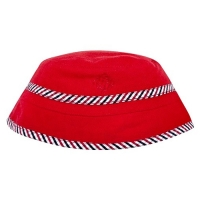 Andy & Evan Red Plaid Reversible Bucket Hat