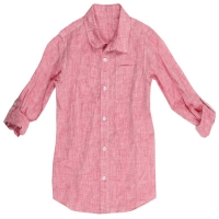 Tom & Drew Strawberry Chambray Shirt