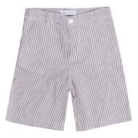 Tom & Drew Salty Dog Stripe Seersucker Shorts