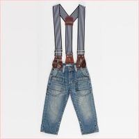 Tom & Drew Denim Suspender Jeans